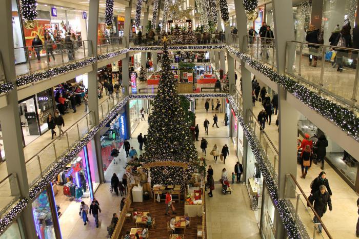 Shopping In Christmas City Karlsruhe