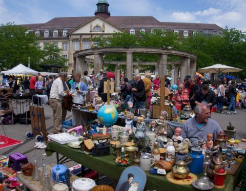 Karlsruhe Flohmarkt