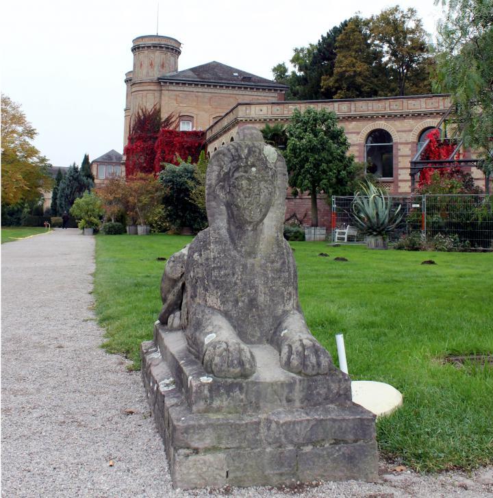 Botanischer Garten Karlsruhe öffnungszeiten: Egyptian Squares