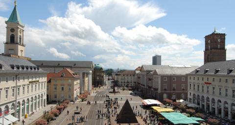Marktplatz Karlsruhe